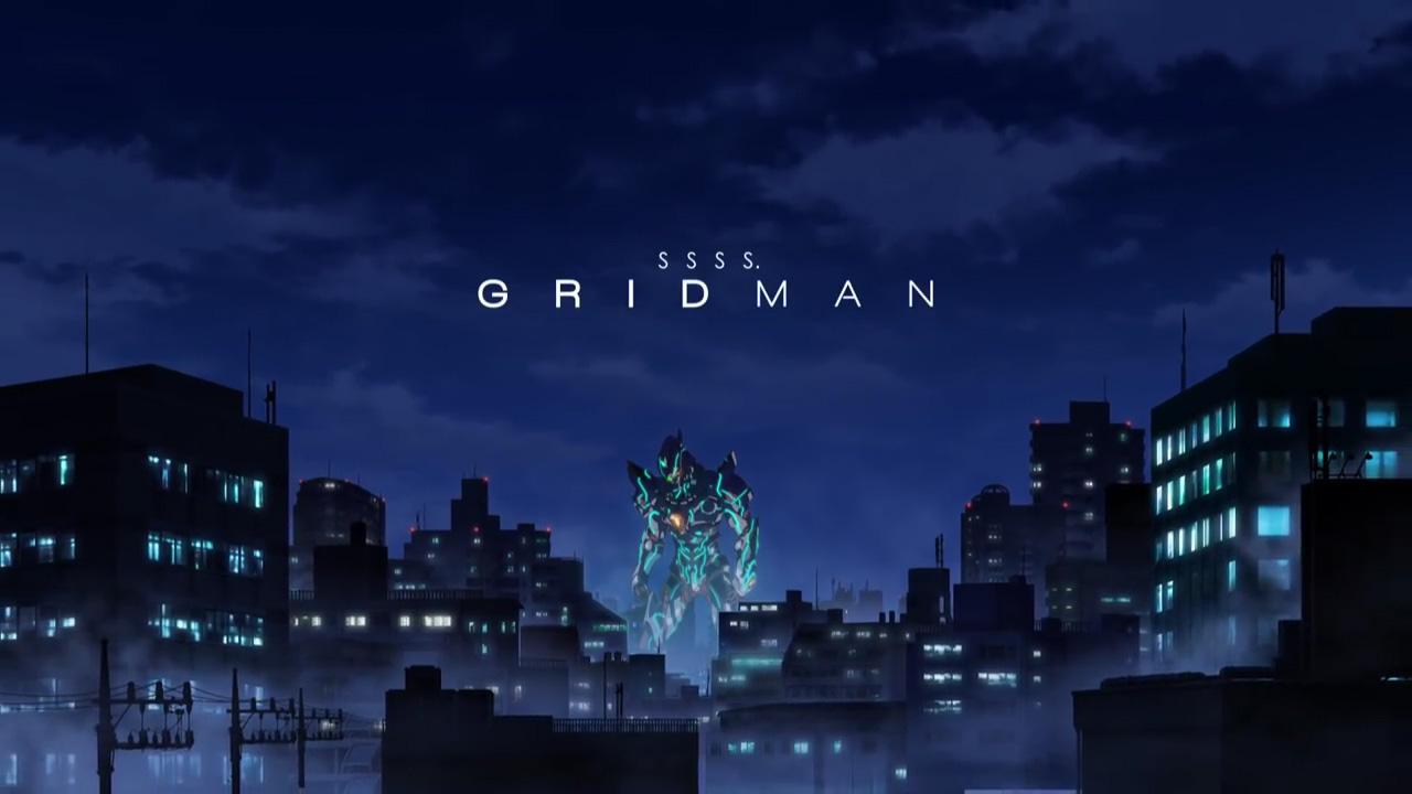 2018. Autumn... New GRIDMAN series will be released!!!