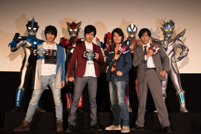 """ULTRAMAN GEED The Movie Grand Finale, """"Connect the Wishes"""