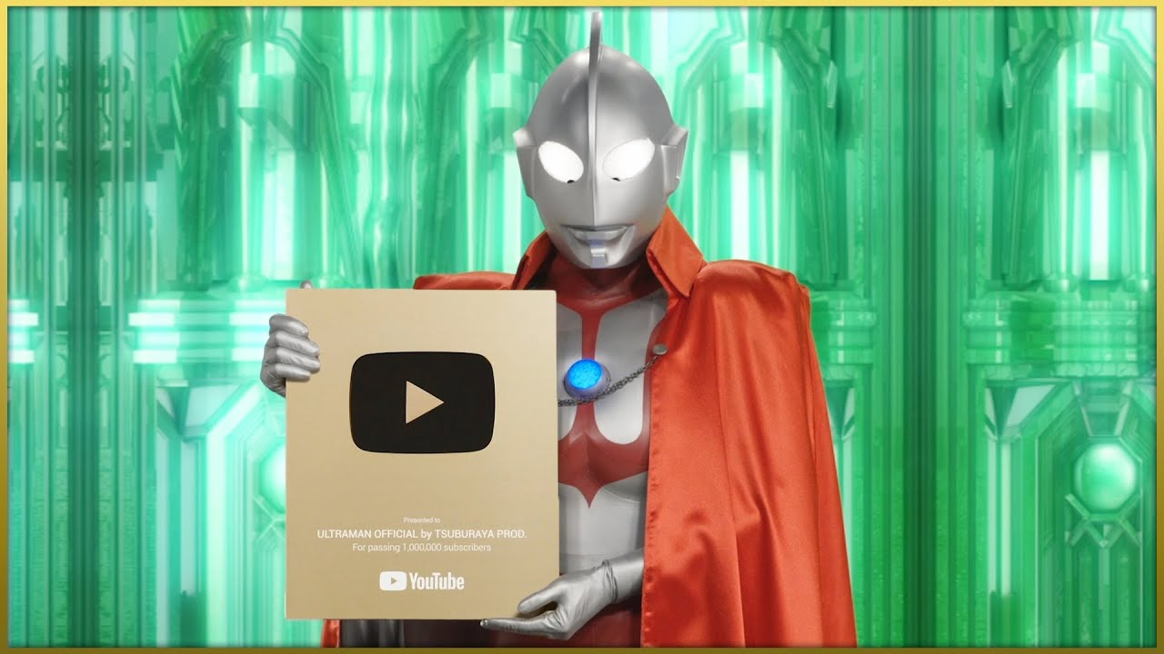 Thank you for 1 million subscribers! Special Message from the Ultra Heroes